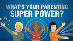 Whats your parenting superpower cartoon